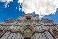 Facade Santa Croce Church Florence Firenze Tuscany Italy Royalty Free Stock Photo
