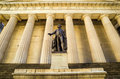 Facade of the Federal Hall with Washington Statue on the front, Royalty Free Stock Photography