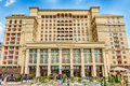 Facade of the Four Season Hotel in Moscow, Russia Royalty Free Stock Photo
