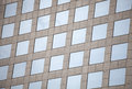 Facade glass windows of a building Royalty Free Stock Photo