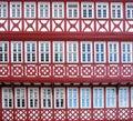 Facade of a Half Timbered House Stock Photos
