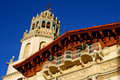 Facade of Hearst Castle Stock Photography