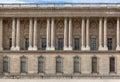 Facade of the Louvre