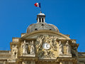Facade of the  Luxembourg Palace Royalty Free Stock Image