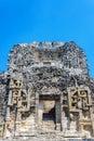 Facade of a Mayan Temple