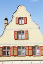 Facade of medieval house in Dinkelsbuehl Stock Photography