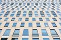 Facade of a moderen office building Stock Photo