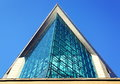 modern architecture glass building Royalty Free Stock Photo