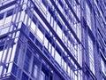 Facade of a modern  bureau building Royalty Free Stock Image