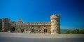 Facade of Moussa Castle at Deir al Qamar, Lebanon