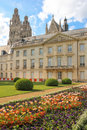 Facade of the museum of fine arts tours france classical musée des beaux bishops former palace Royalty Free Stock Images