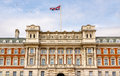 Facade of the Old Admiralty Building - London Royalty Free Stock Photo