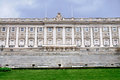 Facade of the Royal Palace, Madrid Stock Photo