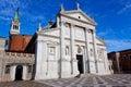 Facade San Giorgio Maggiore, Venice, Italy Royalty Free Stock Photo