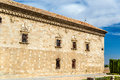 Facade of Santa Cruz Museum in Toledo, Spain Royalty Free Stock Photo