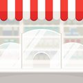 Facade of a Shop Store or Pharmacy Background Royalty Free Stock Photo