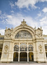 Facade of the spa city of Marianske Lazne Royalty Free Stock Photography