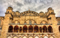 Facade of the Sultan Ahmet Mosque in Istanbul Royalty Free Stock Photo