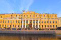 Facade of Yusupov Palace.
