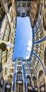 Facades of buildings in Hackescher Markt in Berlin, Germany Royalty Free Stock Photo