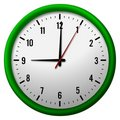 Face of analog clock Royalty Free Stock Photography