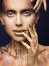 Face Art Color Beauty Makeup, ...