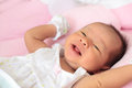 Face of baby infant Royalty Free Stock Photo