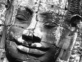 Face At Bayon Royalty Free Stock Photos