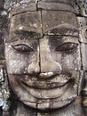 Face of Bayon Royalty Free Stock Photo