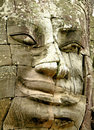 Face of Bayon temple Royalty Free Stock Photos