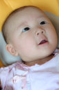 Face close up of a cute baby Royalty Free Stock Photos