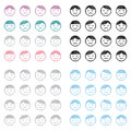 Face Emotions Icon Set