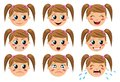 Face Expressions Royalty Free Stock Photo