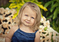 Face of little girl Royalty Free Stock Photo