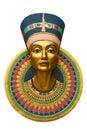 Face of Nefertiti Royalty Free Stock Photo