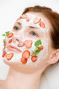 Face pack Stock Images