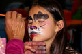 Face Painting Dog
