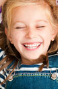 Face smiling girl Royalty Free Stock Photography