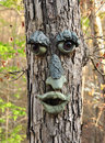 Face tree Royalty Free Stock Photo