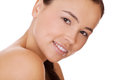 Face woman with healthy clean skin Stock Photo