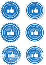 Facebook Like Stamps Stock Photos