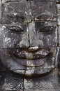 Faces of Angkor Stock Photos