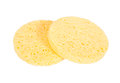 Facial cleansing sponge Royalty Free Stock Photo
