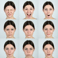 Facial Expressions Royalty Free Stock Photo