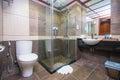 Facilities in bathroom Royalty Free Stock Photo