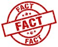 fact stamp Royalty Free Stock Photo