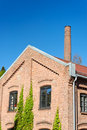 Factory Building and Chimney Royalty Free Stock Image
