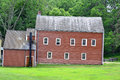 Factory building the in historic speedwell in morristown nj Stock Photography