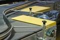 The factory conveyor. Royalty Free Stock Photo