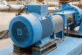 Factory equipment  motor industrial Royalty Free Stock Photo